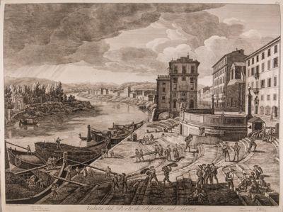 Porto di Ripetta, veduta