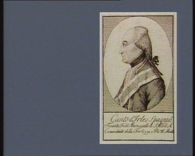 A Canto d'Irles spagnio.le tenente feld maresciallo di S.M.R.A. comandante della fortezza e pia.za di Mantova : [estampe]