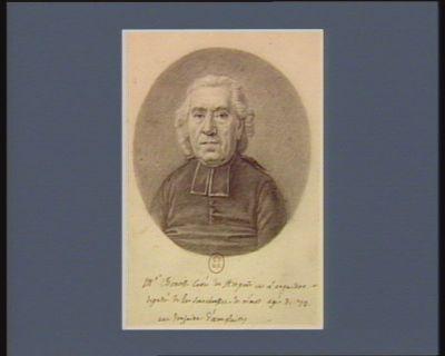 M.r Benoit Curé du Hesporte en Languedoc deputé de la senechaussee de nimes agé de 42 : une douzaine d'exemplaires : [dessin]