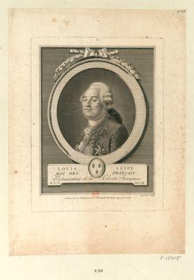 Louis seize roi des Français restaurateur de la liberté française [estampe]