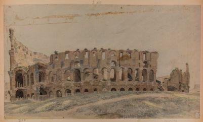 Colosseo visto da mezzogiorno