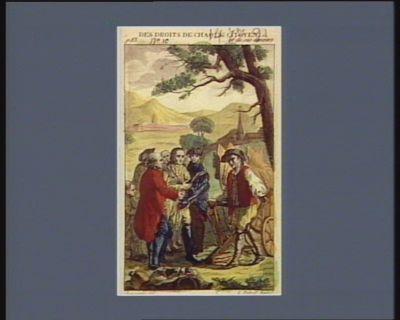 Des droits de chaque citoyen... et de ses devoirs le nouveau Cincinnatus... vivre libre, ou mourir : [estampe]