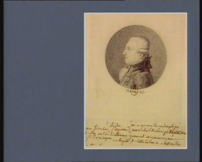 Jean-François c.te de Reynaud né à Grenoble en Dauphiné maréchal des camps et armée du Roy, ancien lieutenant général du gouvernement de St Domingue et député de cette colonie à l'Assemblée nationale : [dessin]