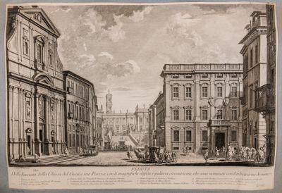 Piazza del Gesù e Campidoglio