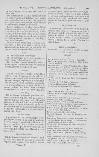 Tome 1 : 1789 – Introduction - états généraux - préliminaires. Cahiers des sénéchaussées et baillages [Agen - Amont] - page 593