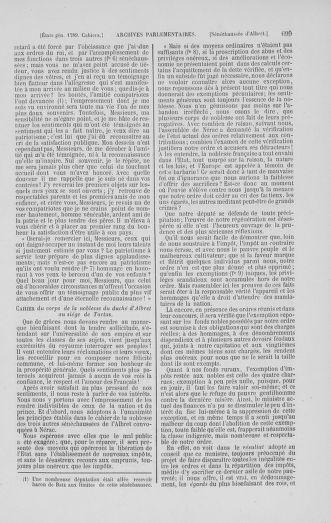 Tome 1 : 1789 – Introduction - états généraux - préliminaires. Cahiers des sénéchaussées et baillages [Agen - Amont] - page 699