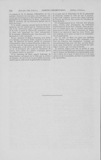 Tome 1 : 1789 – Introduction - états généraux - préliminaires. Cahiers des sénéchaussées et baillages [Agen - Amont] - page 756