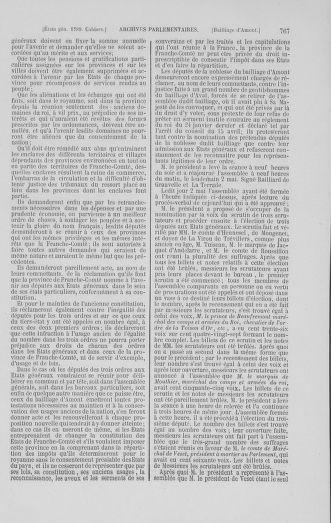 Tome 1 : 1789 – Introduction - états généraux - préliminaires. Cahiers des sénéchaussées et baillages [Agen - Amont] - page 767
