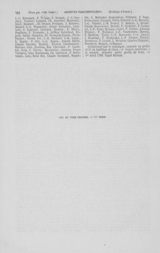 Tome 1 : 1789 – Introduction - états généraux - préliminaires. Cahiers des sénéchaussées et baillages [Agen - Amont] - page 782