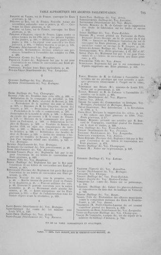 Tome 1 : 1789 – Introduction - états généraux - préliminaires. Cahiers des sénéchaussées et baillages [Agen - Amont] - page 795