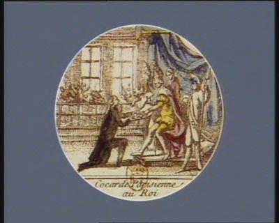 Cocarde parisienne au Roi [estampe]