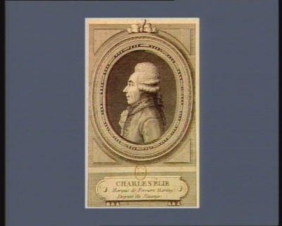 Charles Elie marquis de Ferrière Marsay député de Saumur : [estampe]