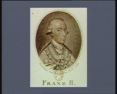 Franz <em>II</em> [estampe]
