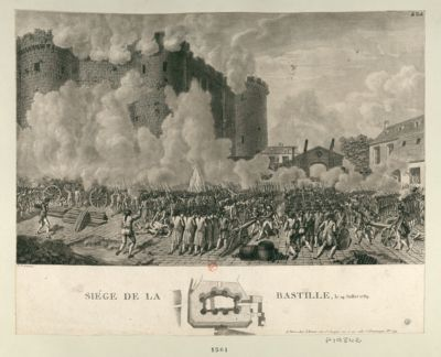 Siège de la Bastille le 14 juillet 1789 : [estampe]