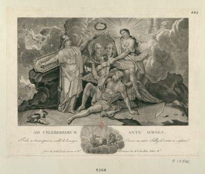 Ad celeberrimum ante omnes riche en moeurs purs et comblé de louanges, comme un autre Sully, il à toute sa confiance : [estampe]