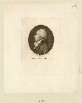 Pierre Louis Roederer deputé de Metz à l'Assemblée nationale en 1789 : [estampe]