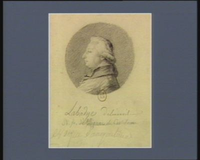 Ph. Fr. d'Albignac de Castelnau évèque d'Angoulème [dessin]