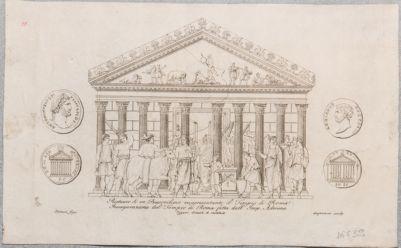 Tempio di Venere e Roma, pronao