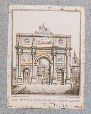 Arco Trionfale in onore di Pio IX
