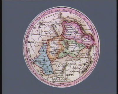 Département des Hautes Alpes divisé en 4 districts : [estampe]