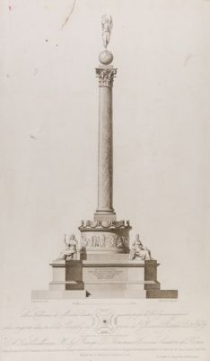 Colonna commemorativa in onore di Pio IX