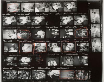[Jean-Michel Basquiat at 860 Broadway; Backstage at the Jackson's Victory tour, with Michael Jackson, Jean-Michel Basquiat, Keith Haring, Marina Schiano, Kenny Scharf, Susan Blond, Emmanuel Lewis, David Geffen, Patricia Arquette, Sean Lennon, Calvin Klein, David Lee Roth]