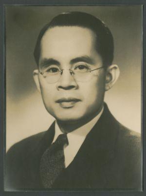 Portrait of Lin Baisheng