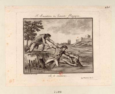 F. Savaton et Louis Rappin Je le sauverai, ... 29 Therm. An 3. : [estampe]
