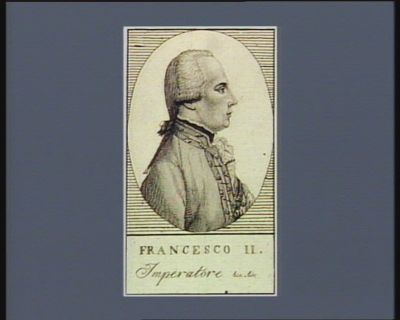 Francesco II imperatore &c &c : [estampe]