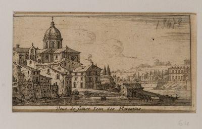 Veduta della chiesa di S. Giovanni dei Fiorentini