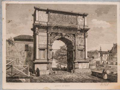 Arco di Tito dopo il restauro