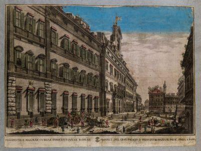 Piazza Monte Citorio. La Curia Innocentiana
