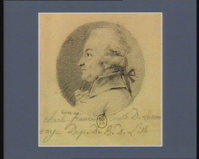 Charle François comte de Lannoye dép. du b. de Lille : [dessin]