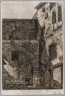 Avanzi dei portici di Filippo a S. Maria in Cacaberis