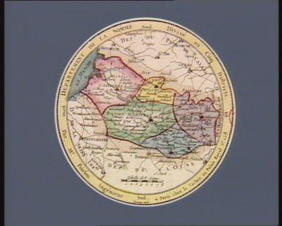 Departement de la Somme divisé en cinq districts : [estampe]