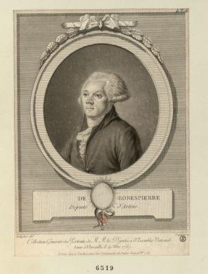 De Robespierre député d'Artois : [estampe]
