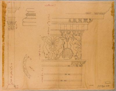 Terme d'Agrippa, motivi architettonici
