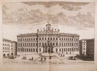 Palazzo di Montecitorio, veduta