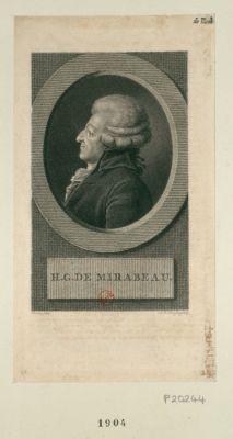 H.G. de Mirabeau [estampe]