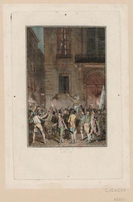 [Nuit du 12 au 13 juillet 1789, à Paris] [estampe]