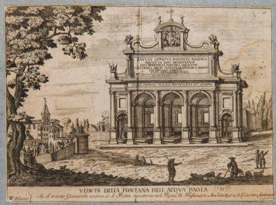 Fontana Paola, prospetto