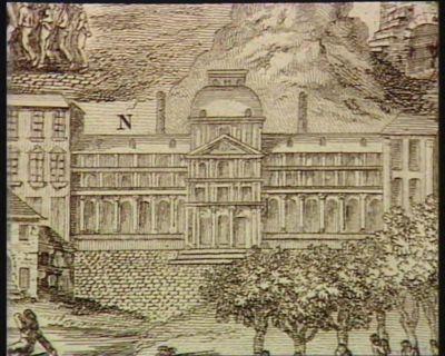[N. Le Château des Tuileries, où se tenaient les scéances du Comité de salut public] [estampe]