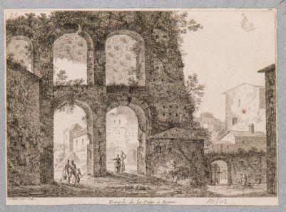 Basilica di Costantino, veduta dall'esterno