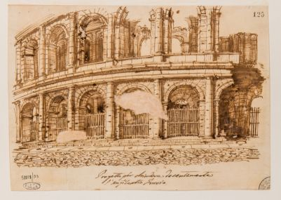 Colosseo, progetto di cancellate