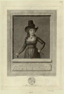 Marie Anne Charlotte Corday ci devant d'Armans... : [estampe]
