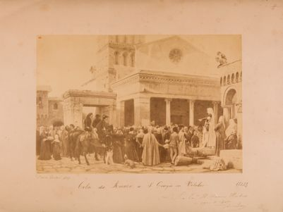 Velabro, la piazza davanti la chiesa di S. Giorgio