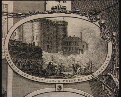 Verovering der Bastille [estampe]