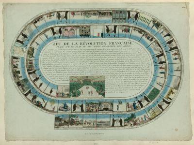 Jeu de la Révolution française tracé sur le plan du jeu d'oye renouvelé des Grècs : [estampe]