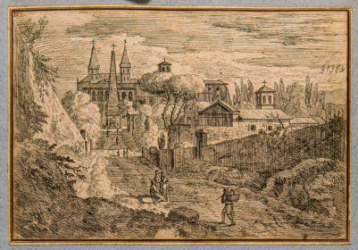 Chiesa di S. Giovanni in Laterano, da via Merulana