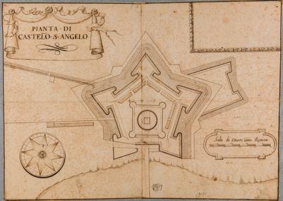 Pianta del Castello S. Angelo
